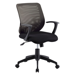 ZINGULAR CHRISTINA OFFICE CHAIR BLACK COLOUR