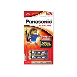PANASONIC LR03T/2B AAA ALKALINE BATTERY PACK OF 2