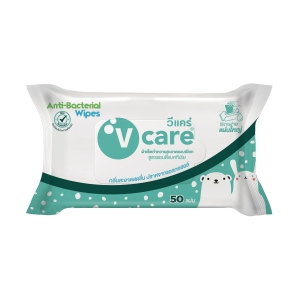 V-CARE WET TISSUE - PACK OF 50 SHEETS