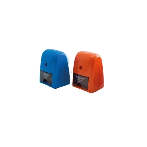 HORSE H-204 PENCIL SHARPENER 8X10.5X10CM ASSORTED COLOURS