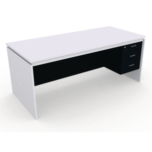 DESUKU FX1803 OFFICE TABLE 180X80X75 CM RIGHT