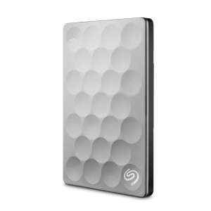 SEAGATE BACKUP PLUS ULTRA SLIM EXTERNAL HARD DISK 1TB SILVER