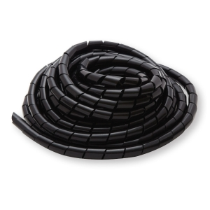 SPIRAL CABLE PROTECTION WRAP NO.20 2 METERS BLACK