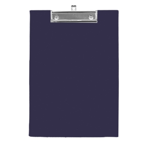 ORCA 102 PVC PLASTIC COVERED CLIPBOARD A4 BLACK
