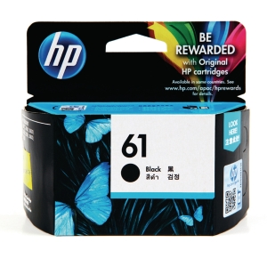 HP ตลับหมึกอิงค์เจ็ท รุ่น HP61 (CH561WA) สีดำ