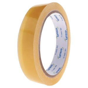 LYRECO CLEAR TAPE 19MMX66M - PACK OF 8