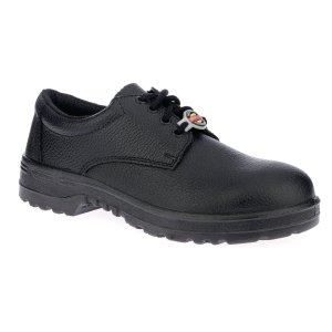 WARRIOR 7198 SAFETY SHOE PU SOLE 38 BLACK