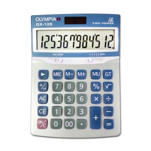 OLYMPIA DX-12S DESKTOP CALCULATOR 12 DIGITS