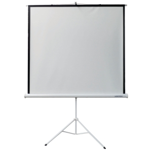 VERTEX TRIPOD PROJECTION SCREEN 70X70 INCHES WHITE