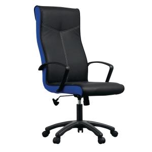 ACURA เก้าอี้ผู้บริหาร รุ่น OPPA/H หนังPU สีดำ-สีน้ำเงิน