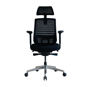 ELEMENTS LIVORNO EM-801E EXECUTIVE CHAIR MESH FABRIC BLACK