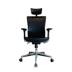 ELEMENTS TIVOLI EM-208EV EXECUTIVE CHAIR PU LEATHER BLACK