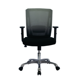 ZINGULAR HANNAH ZR-1021 OFFICE CHAIR MESH FABRIC BLACK