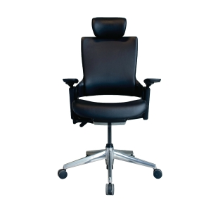 ELEMENTS PARMA EM-701EV EXECUTIVE CHAIR PVC BLACK