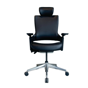 ELEMENTS PARMA EM-701DV OFFICE CHAIR PVC BLACK