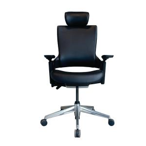 ELEMENTS เก้าอี้สำนักงาน รุ่น PARMA EM-701DV PVC สีดำ