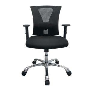 ZINGULAR เก้าอี้สำนักงาน รุ่น AVA ZR-1014 ผ้า สีดำ