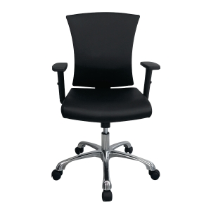 ZINGULAR AVA ZR-1014V OFFICE CHAIR PU LEATHER BLACK