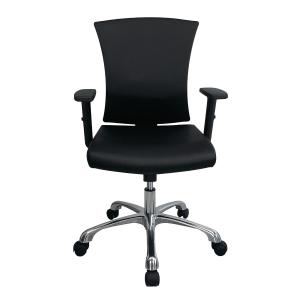 ZINGULAR เก้าอี้สำนักงาน รุ่น AVA ZR-1014V หนังPU สีดำ