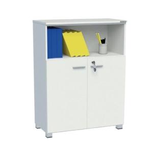 ELEMENTS ตู้เก็บเอกสาร รุ่น DMFO-812 80X40X120 ซม. สีขาว