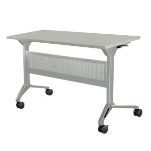 METAL PRO โต๊ะอเนกประสงค์พับได้ มีล้อ+บังตาเหล็ก รุ่น LS-711A-120 120X60X75ซม.