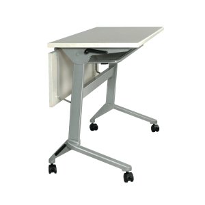 METAL PRO LS-711-180 FOLDING TABLE WHEELS AND WOODEN MODESTY PANEL 180X60X75CM