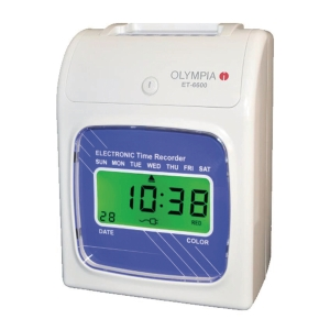 OLYMPIA ET-6600 DIGITAL TIME RECORDER
