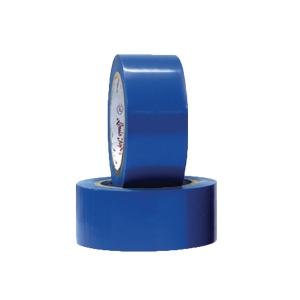 LOUIS เทปตีเส้นพื้น PVC ชนิดแข็ง 48 มิลลิเมตร X 33 เมตร สีน้ำเงิน