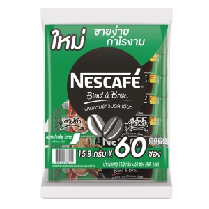 NESCAFE BLEND AND BREW AROMA ESPRESSO COFFEE 3IN1 15.8 GRAM - PACK OF 60