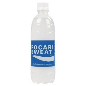 POCARI SWEAT เครื่องดื่มเกลือแร่ 500 มิลลิลิตร แพ็ค 24 ขวด