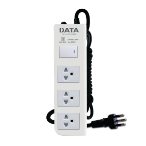 DATA DT3118M EXTENSION CABLE 3 SOCKETS 1 SWITCH 5 METERS