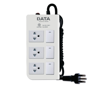 DATA DT3318M EXTENSION CABLE 3 SOCKETS 3 SWITCHES 5 METERS