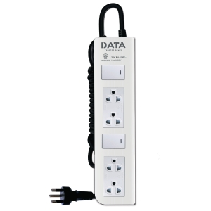 DATA DT4228M EXTENSION CABLE 4 SOCKETS 2 SWITCHES 5 METERS