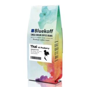 BLUEKOFF ARABICA COFFEE BEAN 100% THAI PEABERRY 250 GRAM