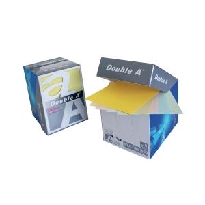 DOUBLE A MINIBOX NOTEPAD 80GRAMS 600SHEETS PASTEL