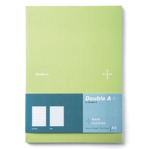 DOUBLE A DA PLUS PLANNER NOTEBOOK A5 80GRAMS 40SHEETS GREEN