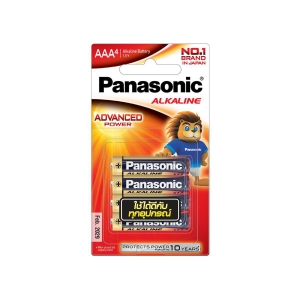 PANASONIC LR03T/4B AAA ALKALINE BATTERY PACK OF 4