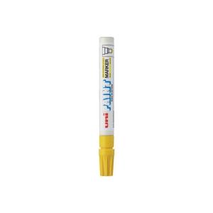UNI ปากกาเพ้นท์ PX20 หัวกลม 2.2-2.8มม. เหลือง