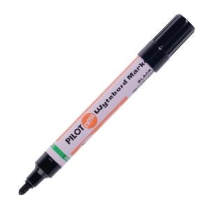 PILOT ปากกาไวท์บอร์ด WBMA-M หัวกลม 2.5มม. ดำ