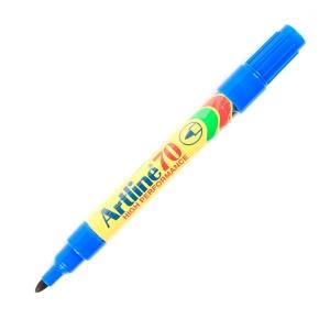 ARTLINE ปากกาเคมีหัวกลม EK-70 1.5มม. น้ำเงิน