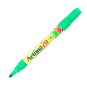 ARTLINE ปากกาเคมีหัวกลม EK-70 1.5มม. เขียว