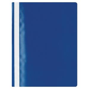 ลีเรคโก บัดเจ็ท แฟ้มเจาะพลาสติก A4 130-180 ไมครอน น้ำเงิน