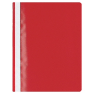 LYRECO BUDGET PROJECT FILE A4 25 SHEET CAPACITY RED