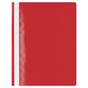 ลีเรคโก บัดเจ็ท แฟ้มเจาะพลาสติก A4 130-180 ไมครอน แดง