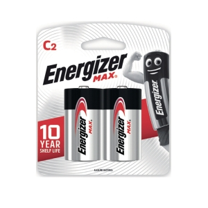ENERGIZER MAX E93 ALKALINE MAX BATTERIES PACK OF 2