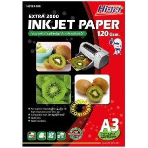 HI-JET EXTRA 2000 INKJET PAPER A3 120G - PACK OF 100