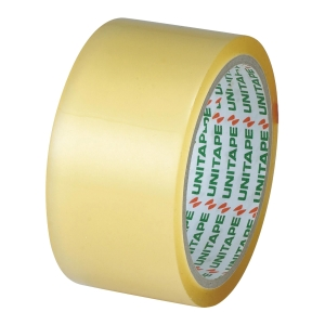 UNITAPE OPP PACKAGING TAPE SIZE 2 INCH X 45 YARDS CORE 3 INCH CLEAR