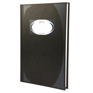 ELEPHANT HC-101 HARD COVER NOTEBOOK 210MM X320MM 70G 100 SHEETS BLACK