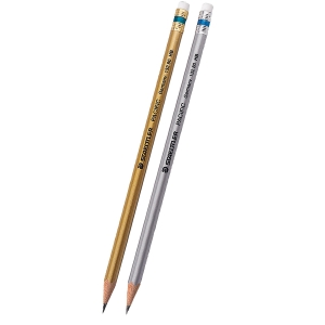 STAEDTLER PACIFIC WOODEN PENCIL WITH ERASER HB - BOX OF 12