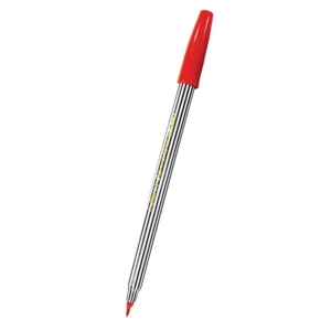 ตราม้า ปากกาหัวสักหลาด H-110 ด้ามปลอก 1.0มม.แดง